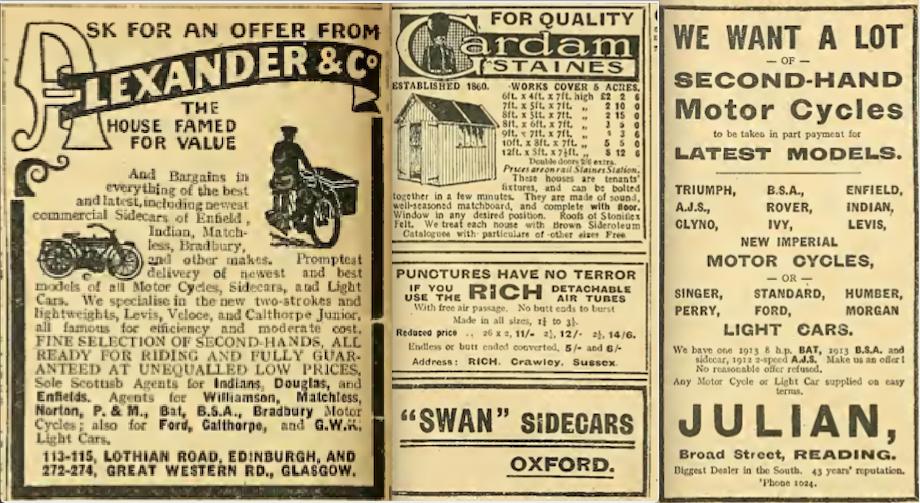 1914 BATCH A ADS