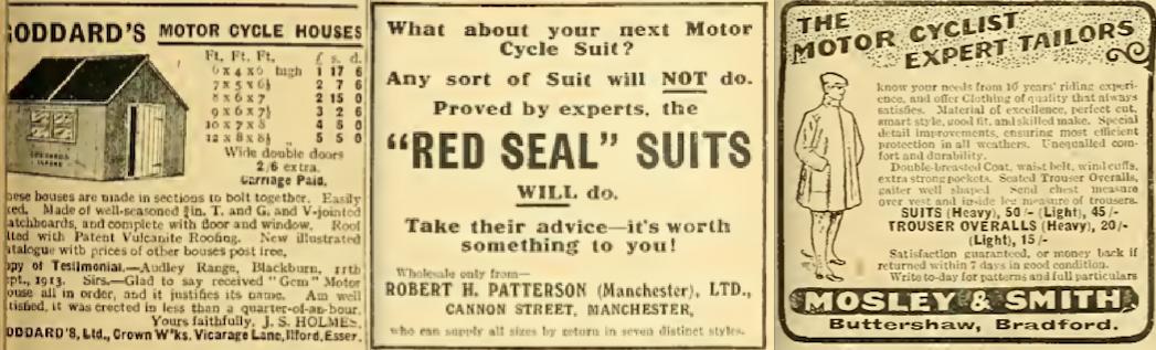 1914 BATCH D ADS