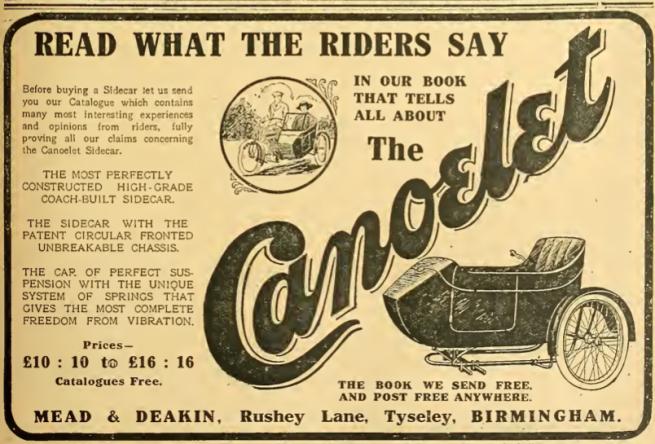 1914 CANOELET AD