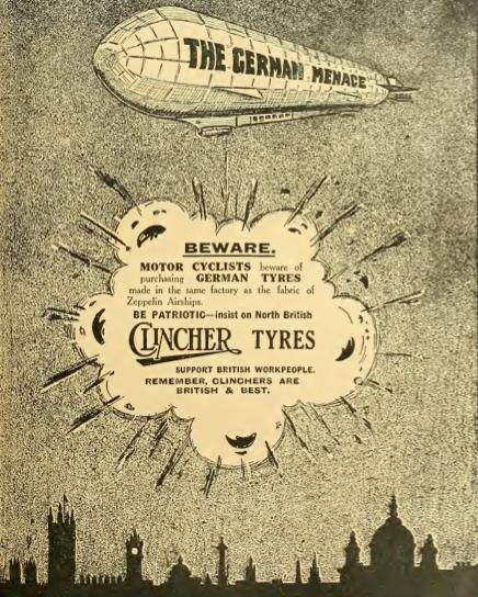 1914 CLINCHER AD