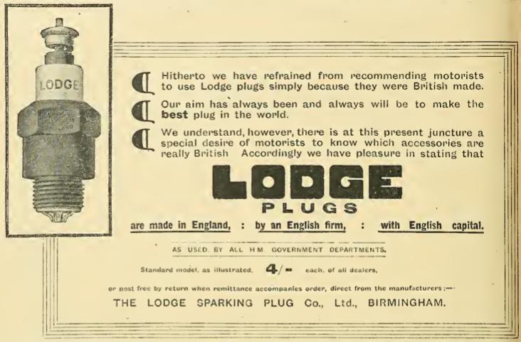 1914 LODGE AD