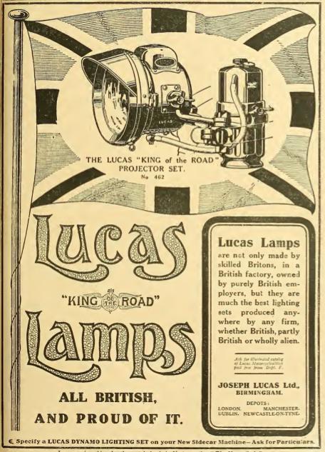 1914 LUCAS AD