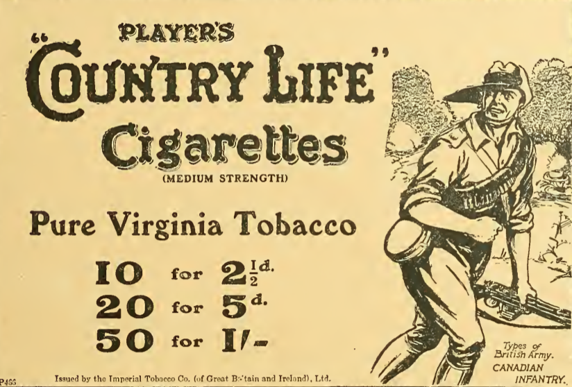 1914 PLAYERS AD