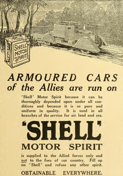 1914 SHELL AD