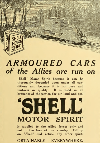1914 SHELL AD