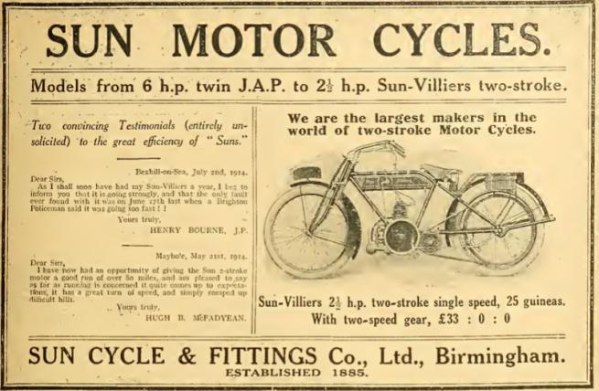 1914 SUN AD
