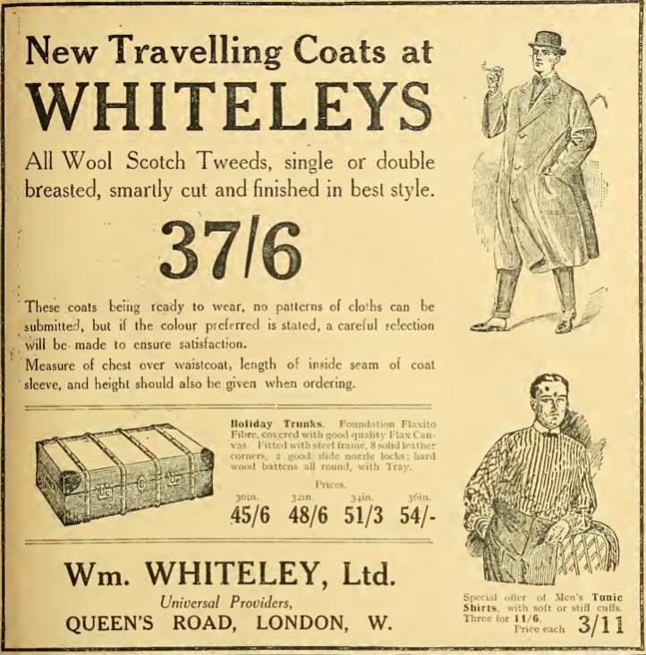 1914 WHITELEY AD