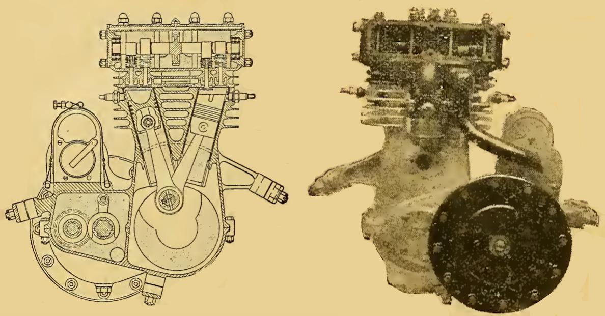 1921 BERGMAN ENGINE