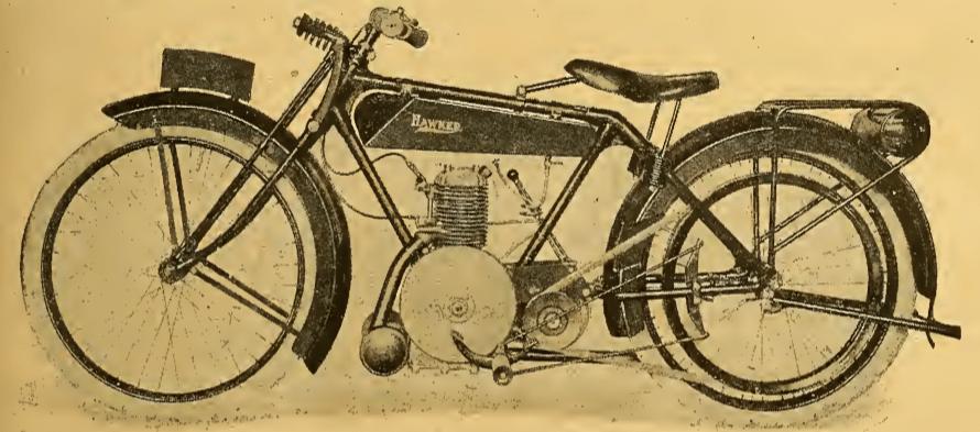1921 HAWKER TEST