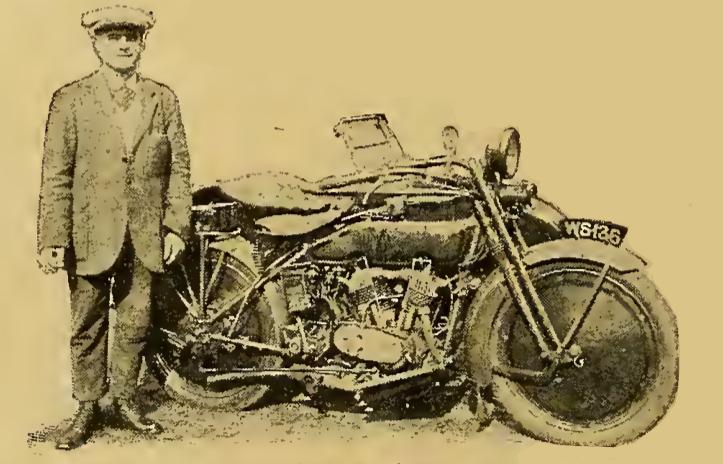 1921 HENDON CONCOURS