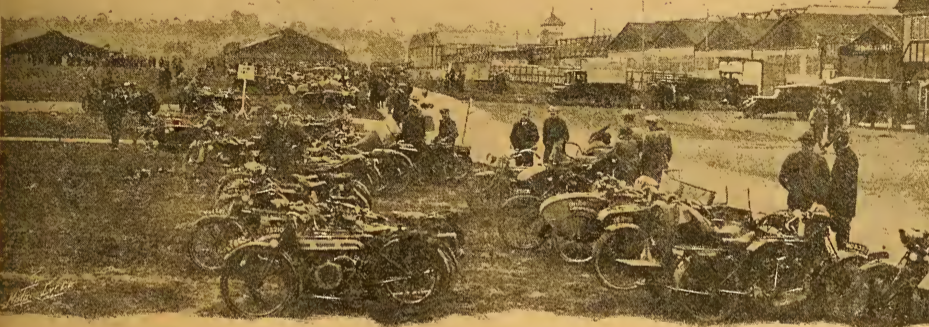 1921 NLMCC RALLY HENDON