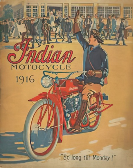 1916 INDIAN AD