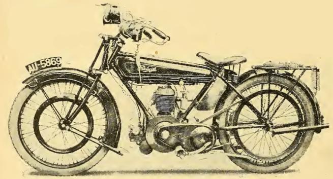 1922 RALEIGH 350 RT BIKE