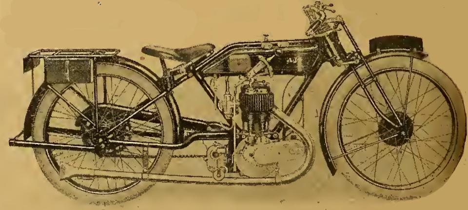 1921 AJS LTWEIGHT