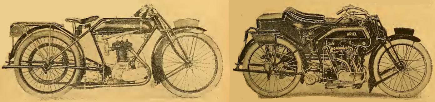 1921 ARIEL TWOSOME