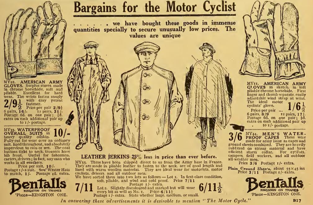 1921 BENTALLS AD