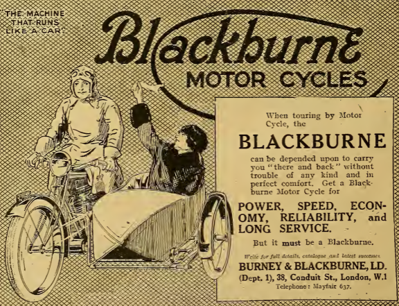 1921 BLACKBURNE AD