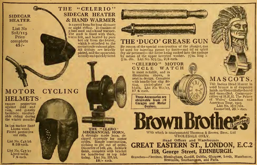 1921 BROWNBROS AD