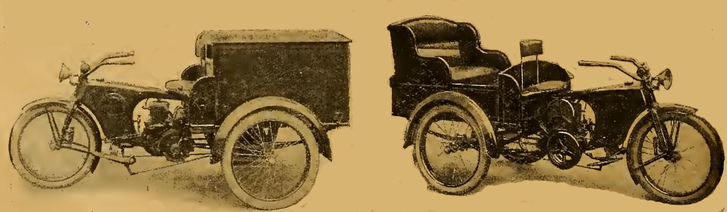 1921 DUAL PURPOSE TRIKE