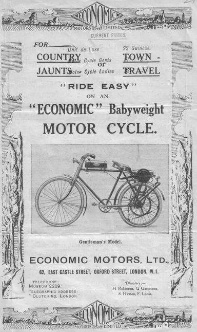 1921 ECONOMIC AD