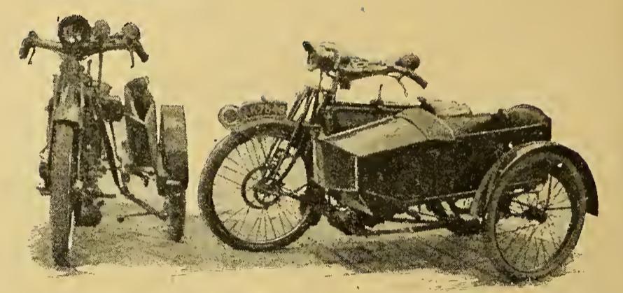 1921 FOLDING SCAR