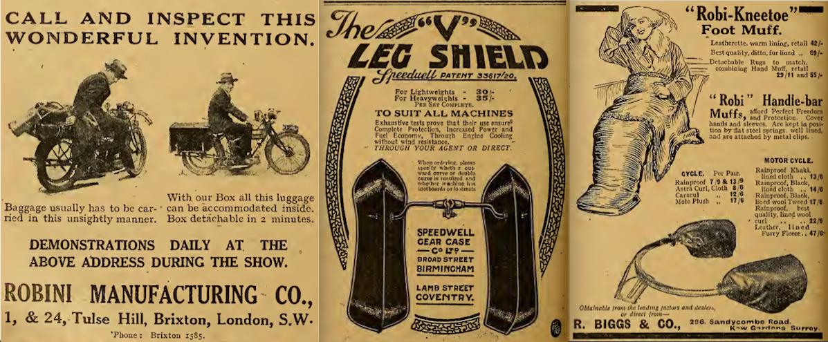 1921 FOOTMUFF AD