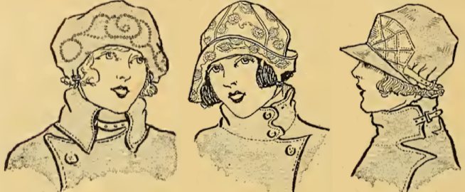 1921 LADIES HATS