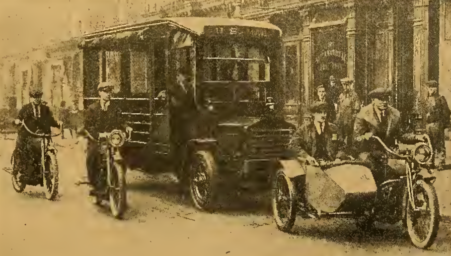1921 MAIL ESCORT