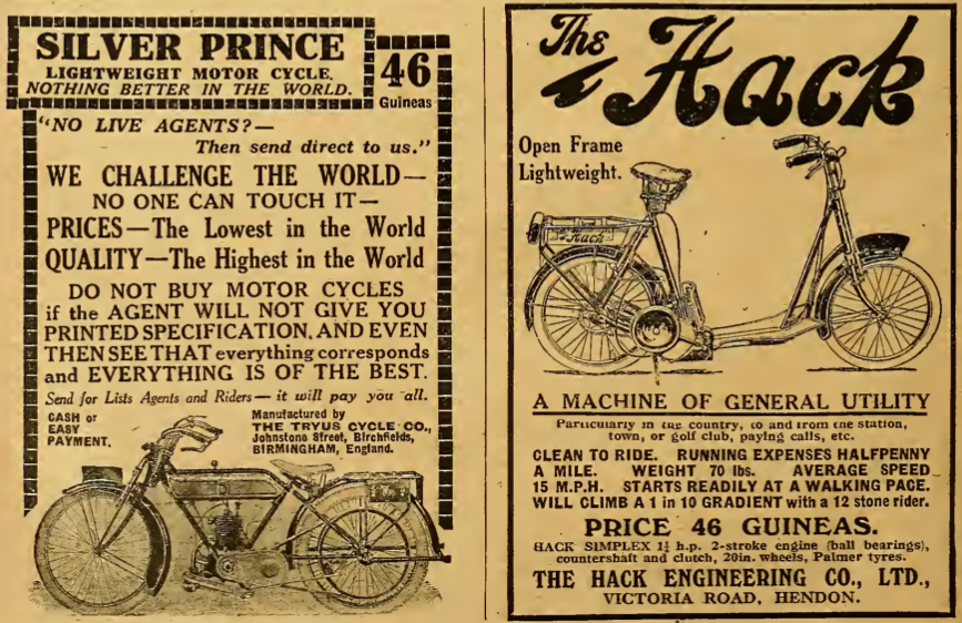 1921 PRINCE HACK AD
