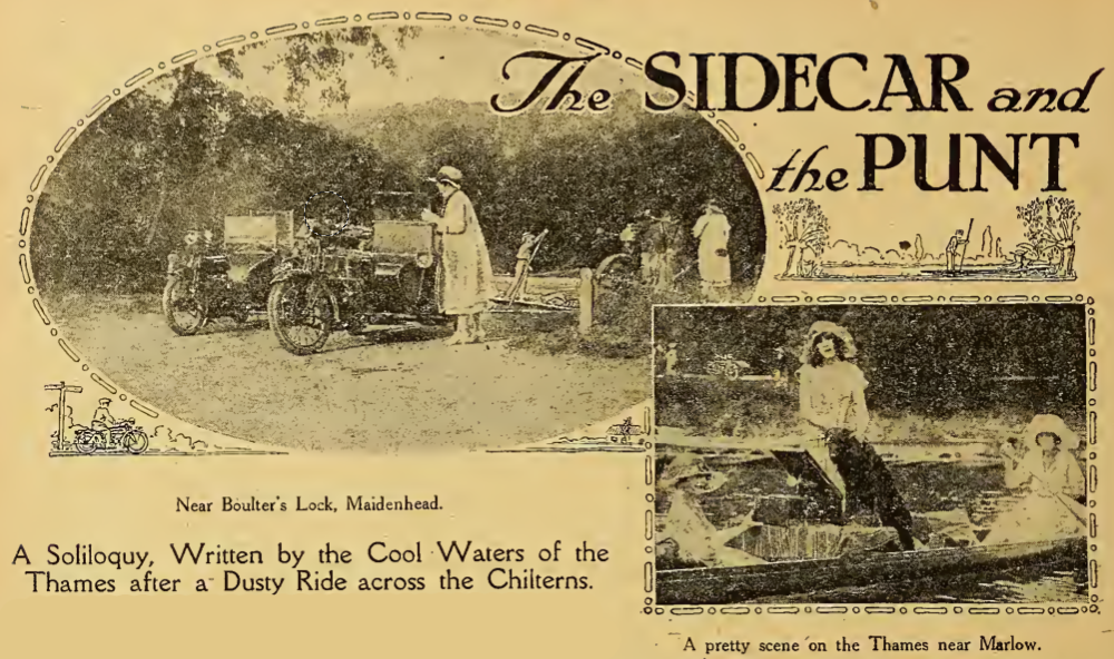 1921 PUNTING SCAR
