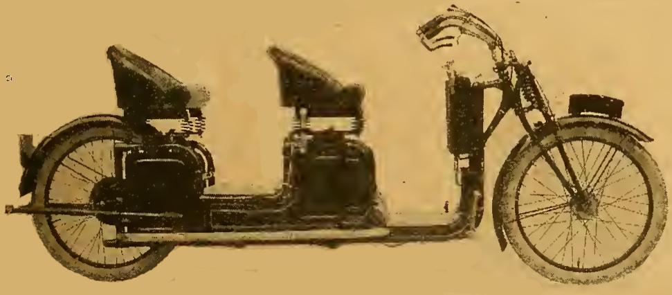 1921 REYNOLDS TANDEM