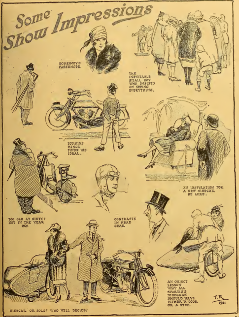 1921 SHOW CARTOONS