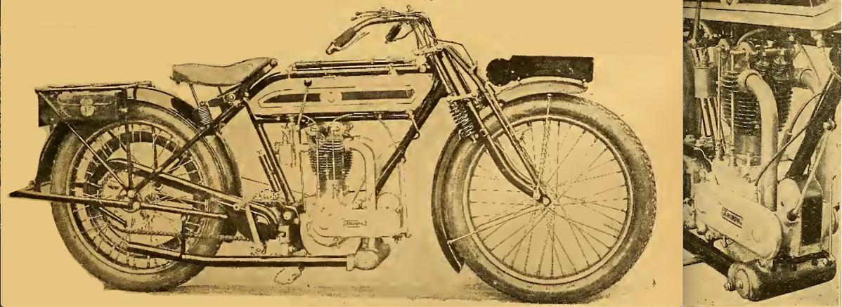 1921 TRIUMPH RICARDO