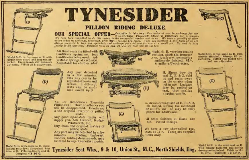 1921 TYNESIDER AD