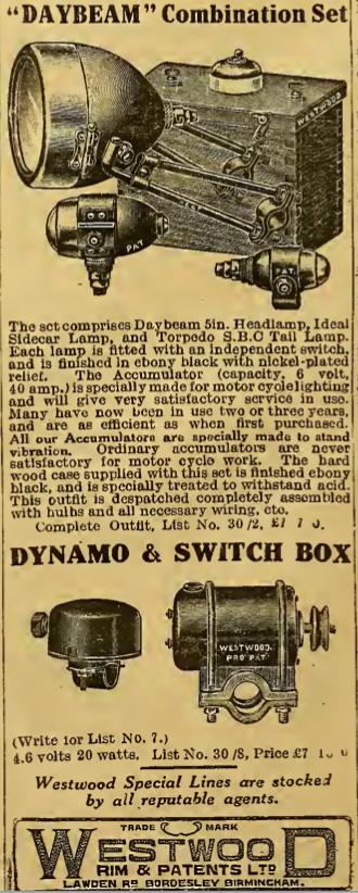 1921 WESTWOOD AD