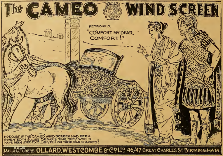 1921 WINDSCREEN AD