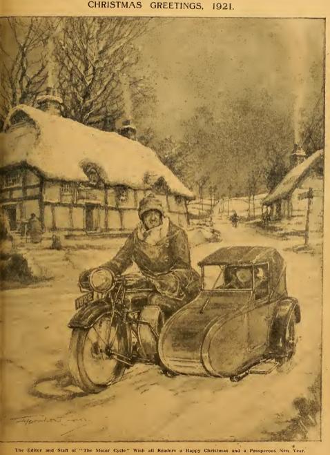1921 XMAS GREETING AW