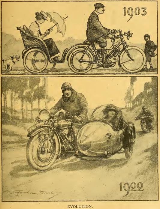 1922 1,000TH EVOLUTION