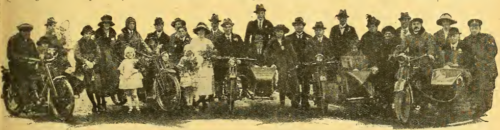 1922 BIKE WEDDING