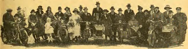 1922 BIKE WEDDING