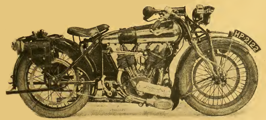 1922 BROUGH TEST BIKE