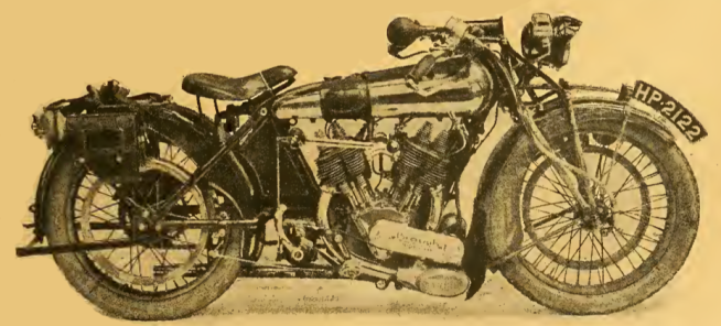 1922 BROUGH TEST BIKE