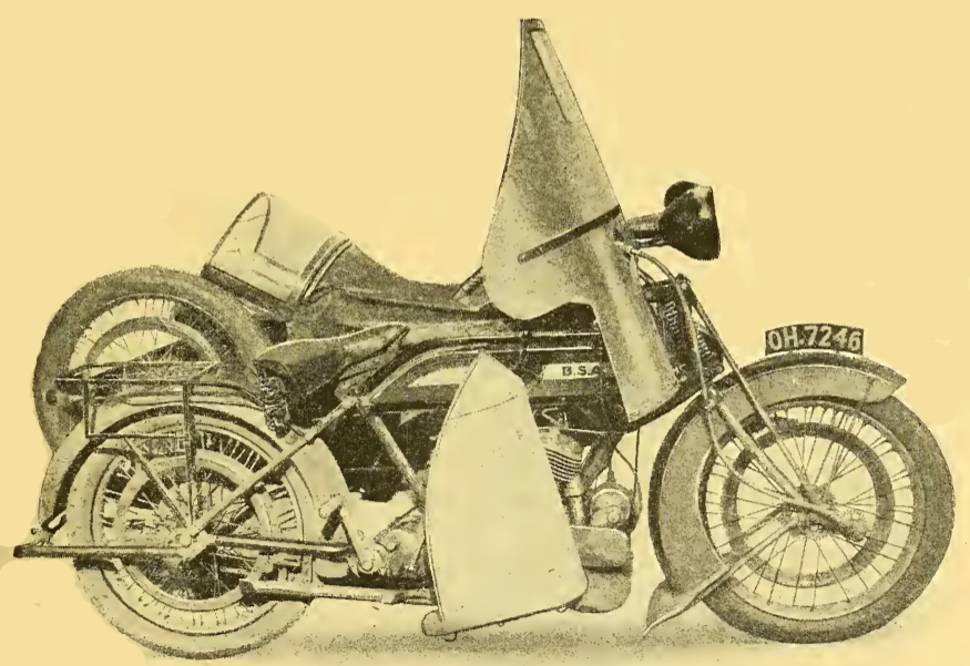 1922 BSA LIGHT 6 RT BIKE
