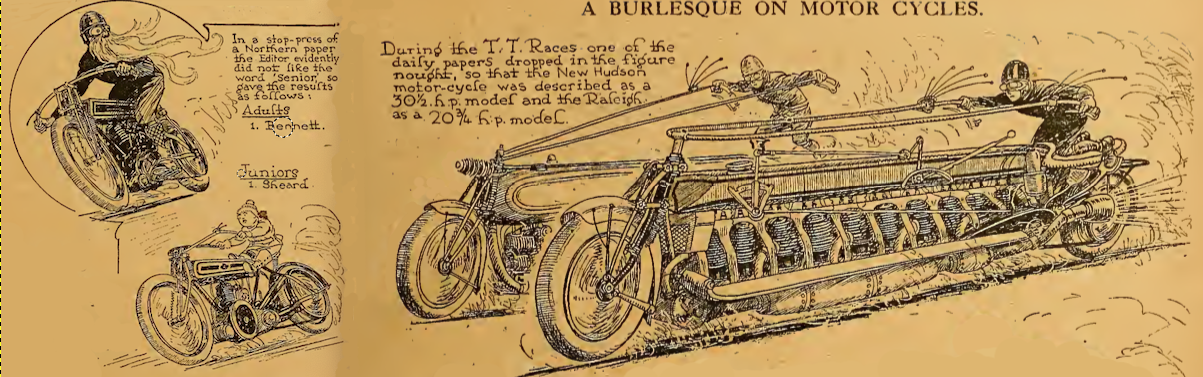 1922 BURLESQUE BIKES