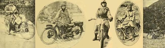 1922 FEMININE RIDERS