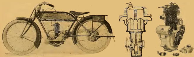1922 GARELLI SPLIT TWIN