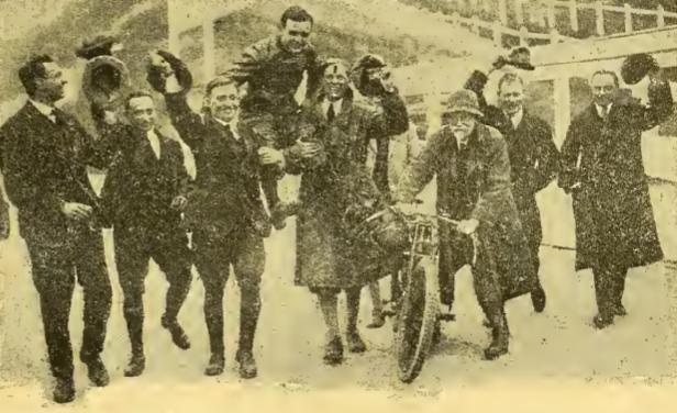 1922 JUDD CHEERED