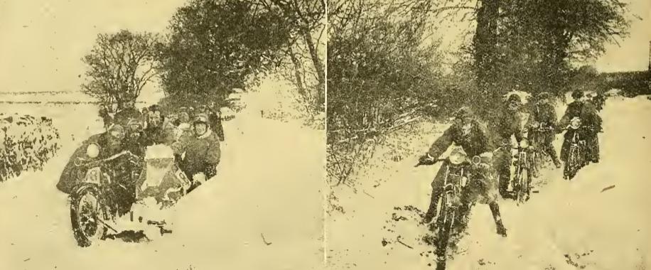 1922 SNOW TRIAL