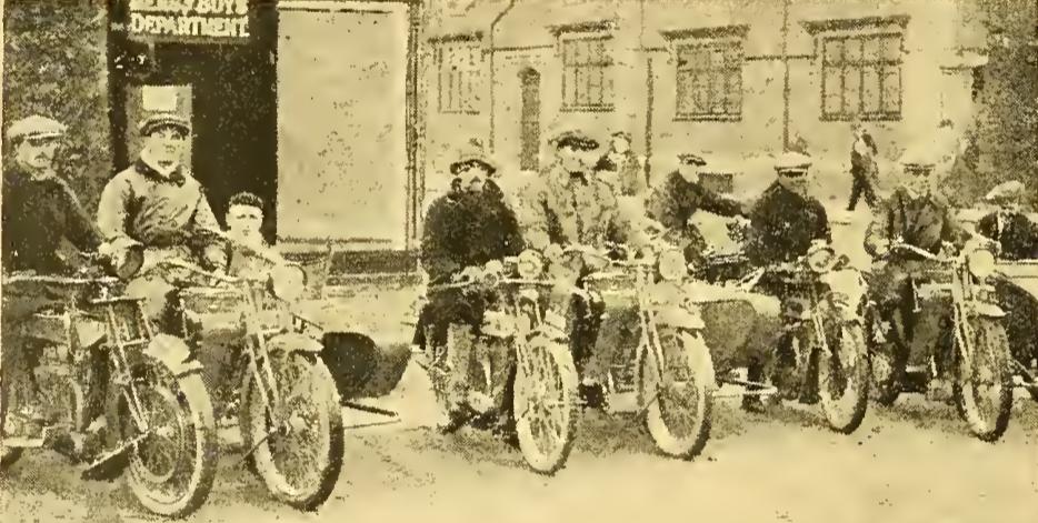 1922 TEAMTRIAL WOOLWICH WINNERS
