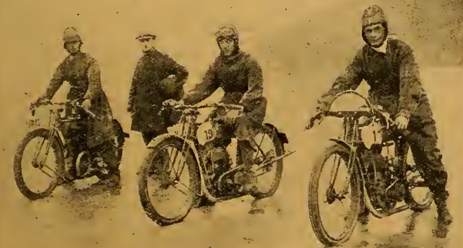 1922 WELSH TT WINNERS